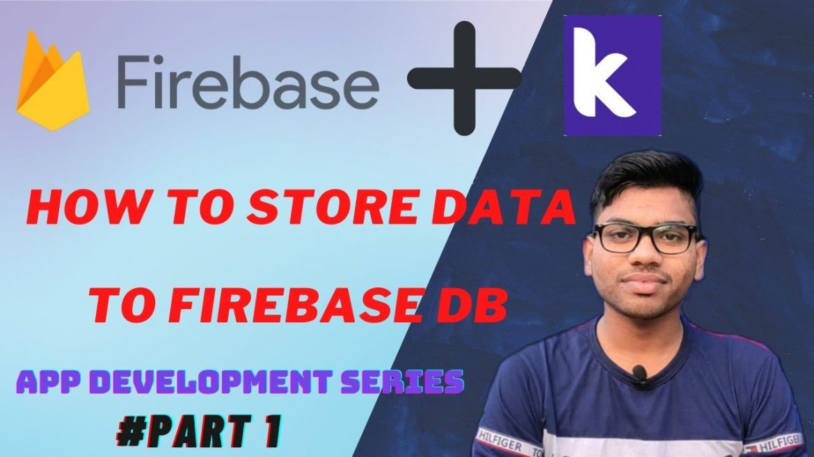 How To Store Data In Firebase Using My Own Android App #KodularSeries